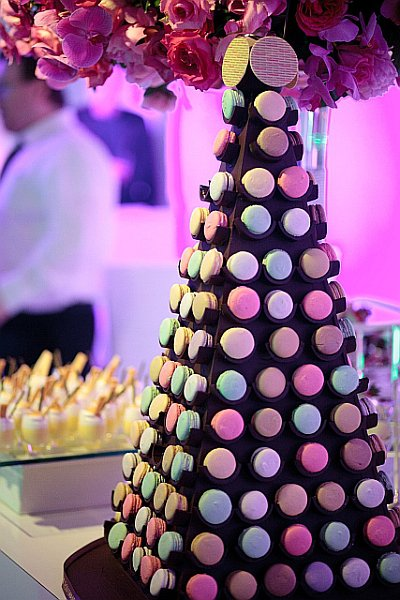 Macarons for Michael Bubles weddings Thomas Haas Patisserie Chocolate Caf