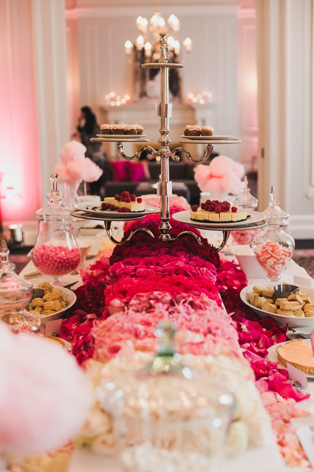 dessert table vancouver club