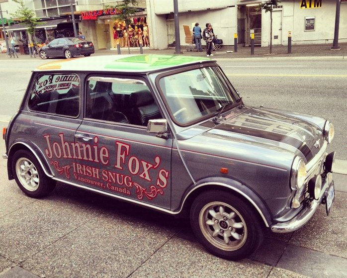Johnnie Foxs Irish Snug car