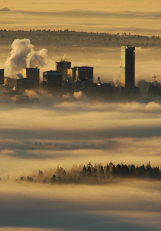 Vancouver in the Clouds