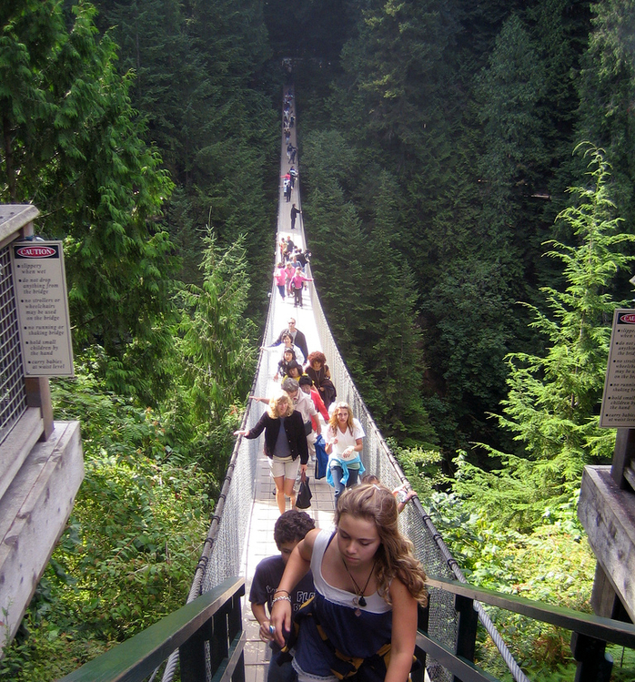 Capilano Suspension Bridge by Rick Audet