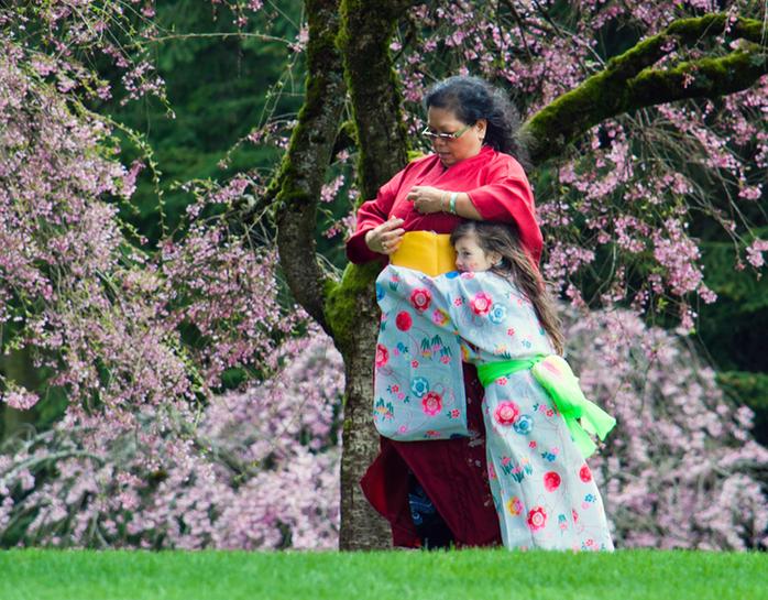 Sakura Days Japanese Festival traditional kimonos