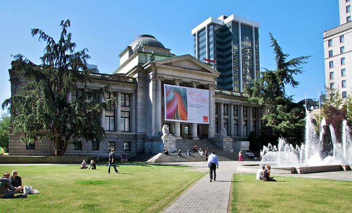 Vancouver Art Gallery by Cord Rodefeld