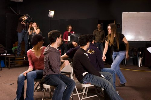 Acting Students in Action VanArts