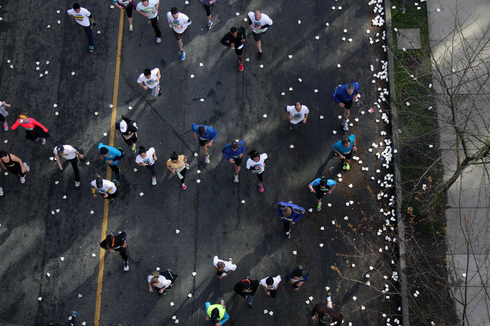 Athletes from Above