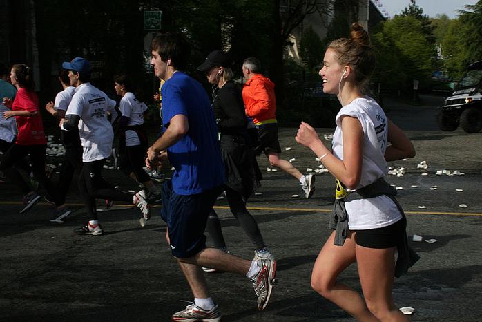 Vancouver Marathon SunRun 2013