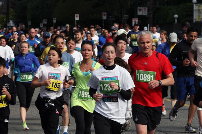 Vancouver SunRun Marathon 2013
