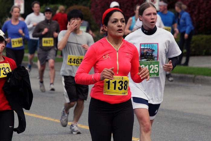 Vancouver SunRun Marathon Athletes
