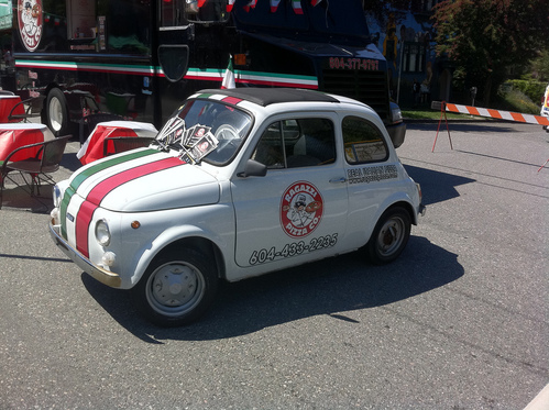 Ragazzi Pizza Car Italian Day