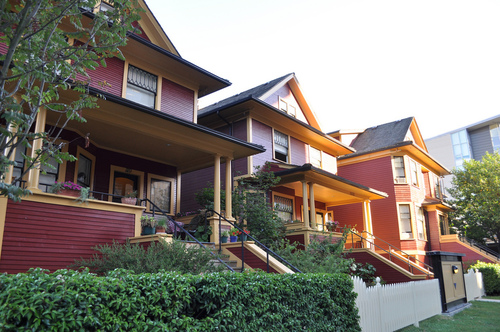 Vancouver Houses by Joe Mabel