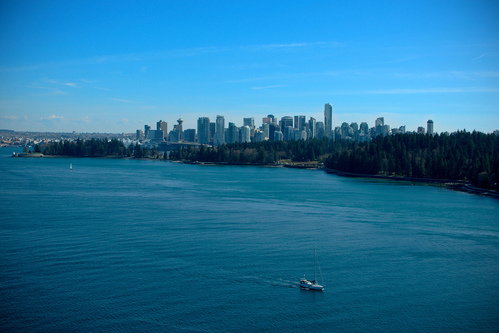 Vancouver Skyline by Sbastien Launay