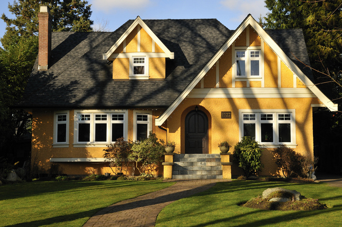 Colonial House Exterior Paint