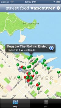 Street Food Vancouver App