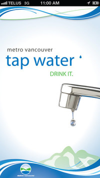 Vancouver Tap Water App