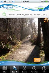 iParks Navigator App