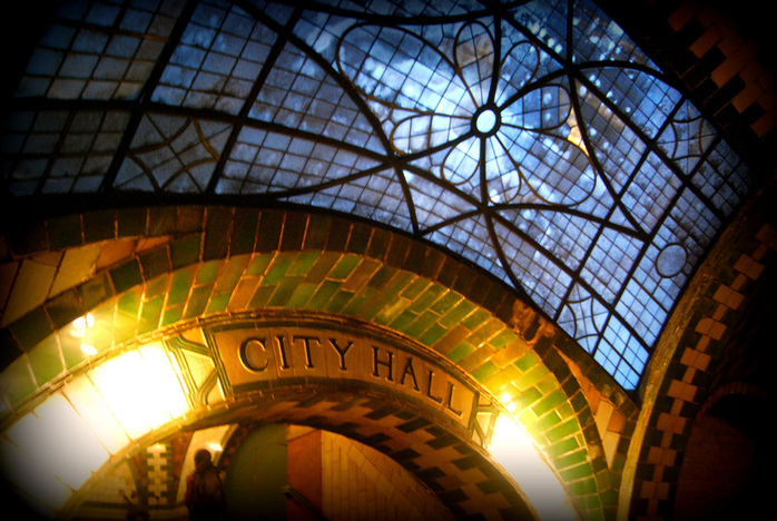 City Hall Station by Paul Lowry 2