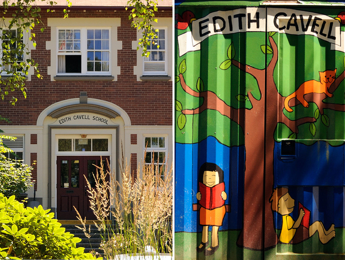 Edith Cavell School in Vancouver