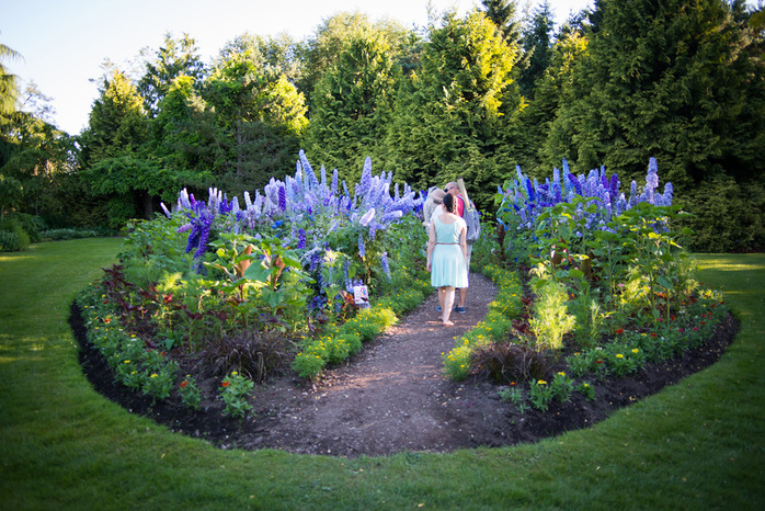 Flower Bed VanDusen Botanical Garden