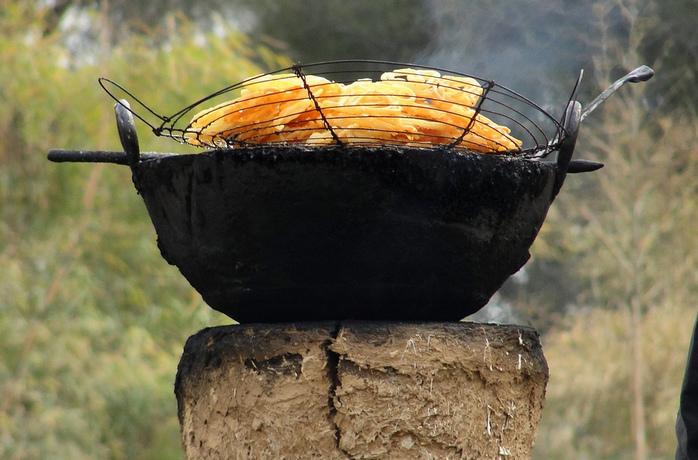 Jalebi Wood Stove Cooking by BlackZero007
