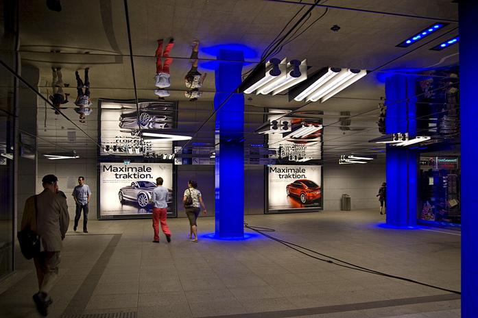 Muenchner Freiheit Station by digital cat