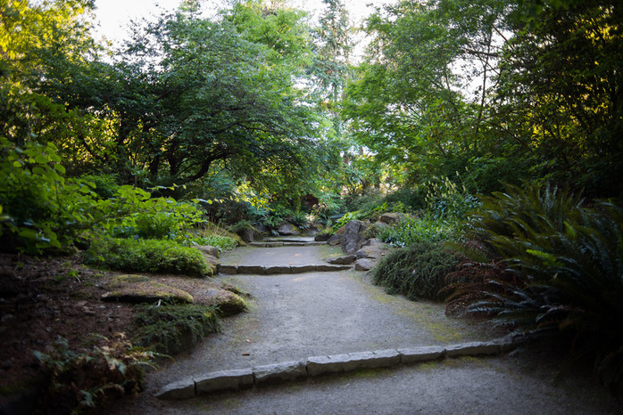 Walking Paths in VanDusen Botanical Garden