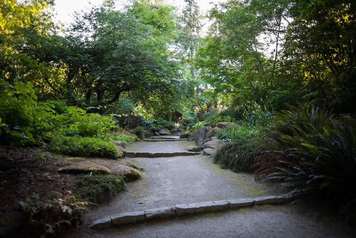 Walking Paths in VanDusen Botanical Garden
