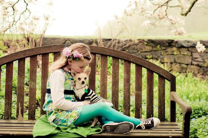 Girl Dog by Laura Dye