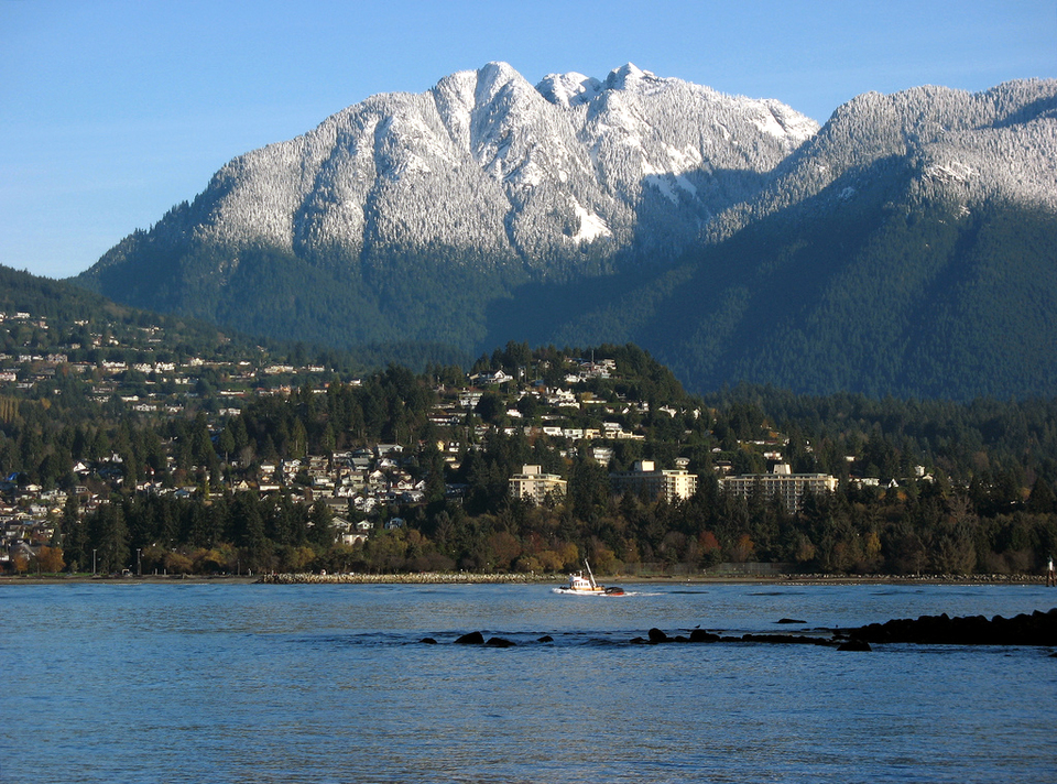 Mountains On Vancouver Island Bc