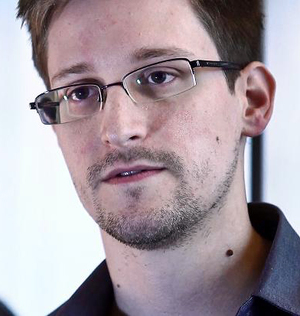 Edward Snowden by Wikimedia Commons