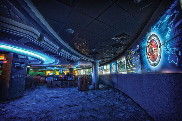 National Security Agency Operations Center Floor