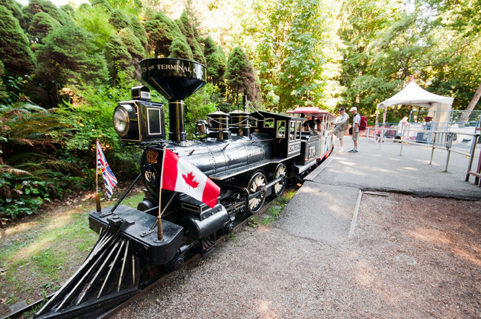 Stanley Park Gardens Miniature Railway