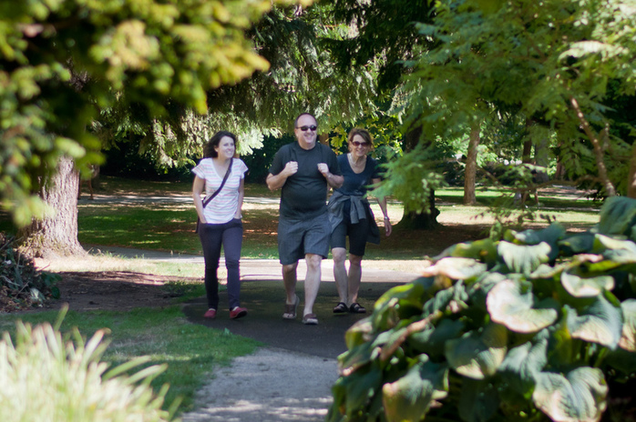 Stanley Park Gardens Visitors