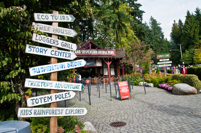 Capilano Suspension Bridge Park Entrance