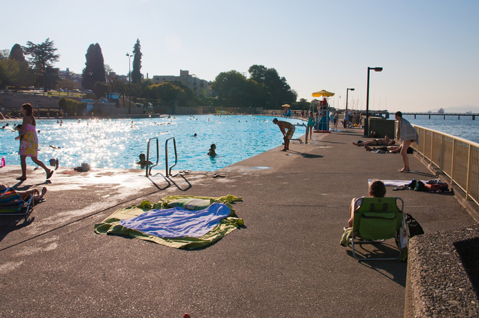 Kits Pool in Vancouver