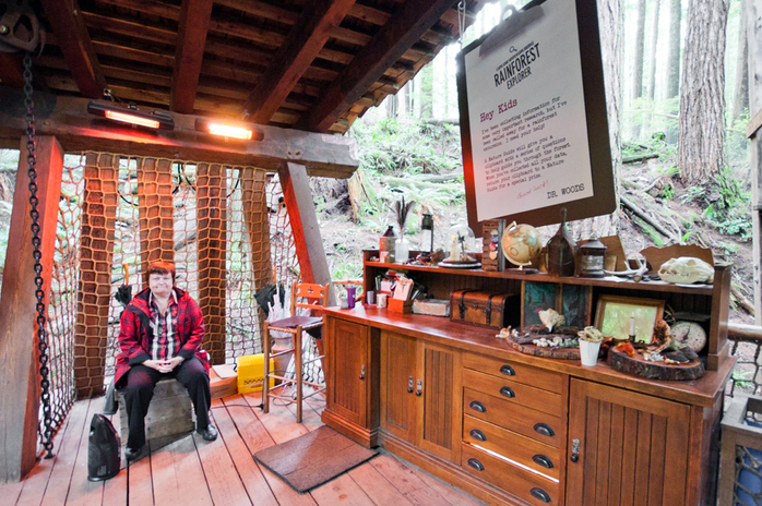 Rainforest Explorer Booth in Capilano
