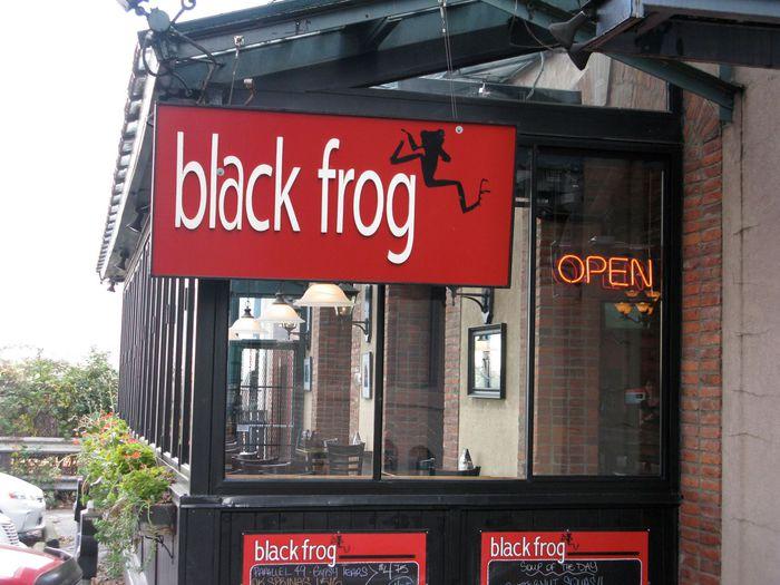 black frog eatery