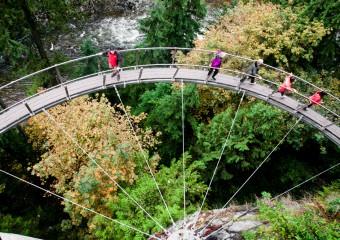 Vancouver Weekends: Capilano Suspension Bridge