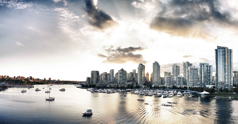 Yaletown Sunset by Thomas Bullock