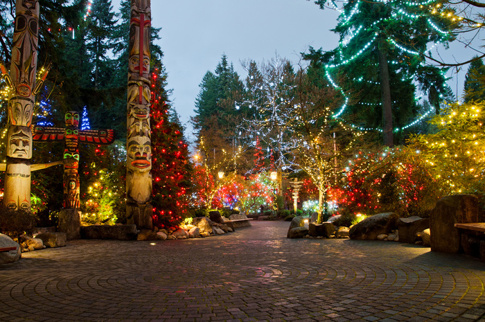 Capilano Suspension Christmas Light2