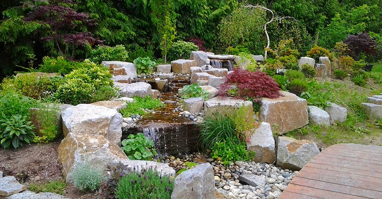 Water Features by No Limit Landscaping