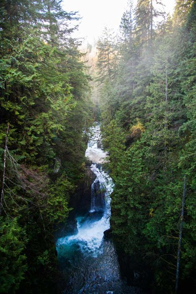 Lynn Canyon Waterfall