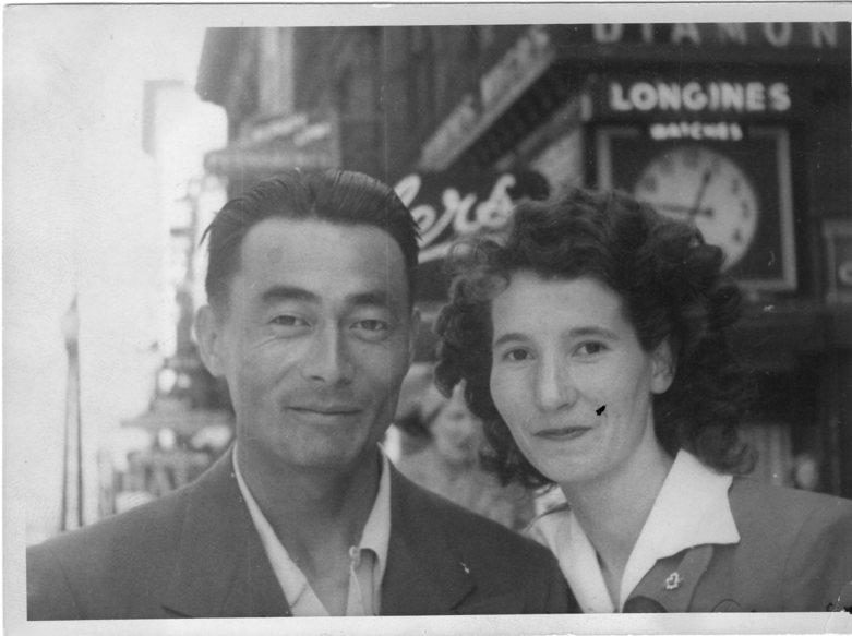 Foncie Pulice 1950 Street Photography Honeymoon