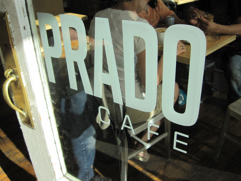 Prado Cafe by Michael Allen Smith