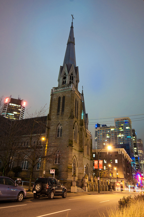 Holy Rosary Cathedral in Vancouver