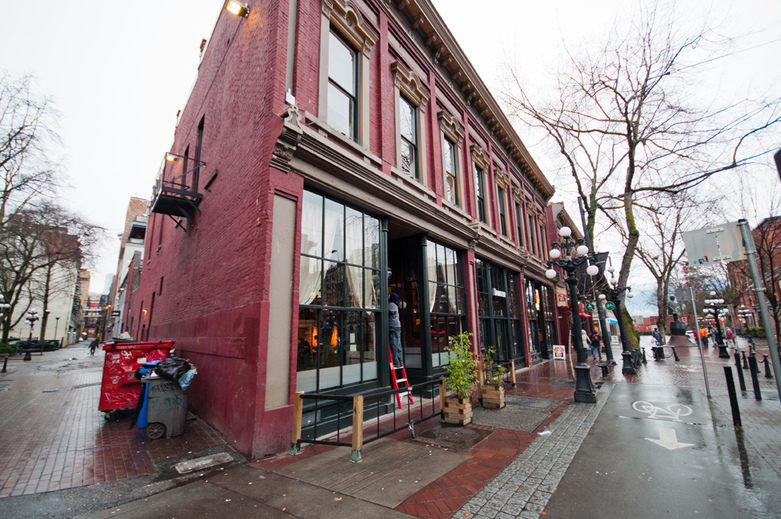 Alhambra Gastown in Vancouver