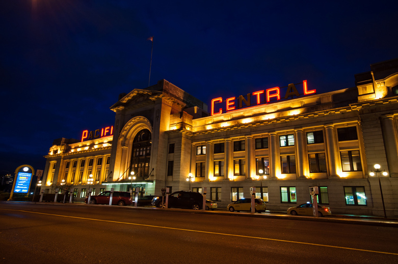Central Station in Vancouver