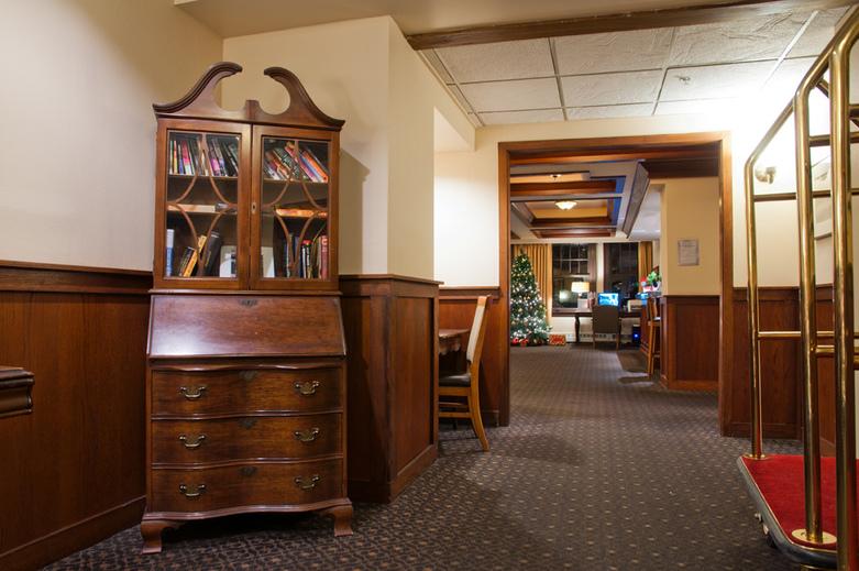 Interior  Sylvia Hotel in Vancouver