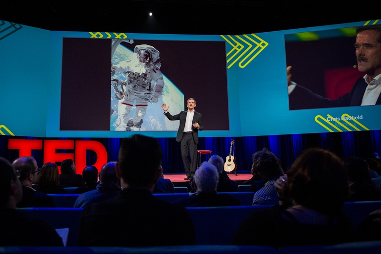 Chris Hadfield TED 2014 Vancouver