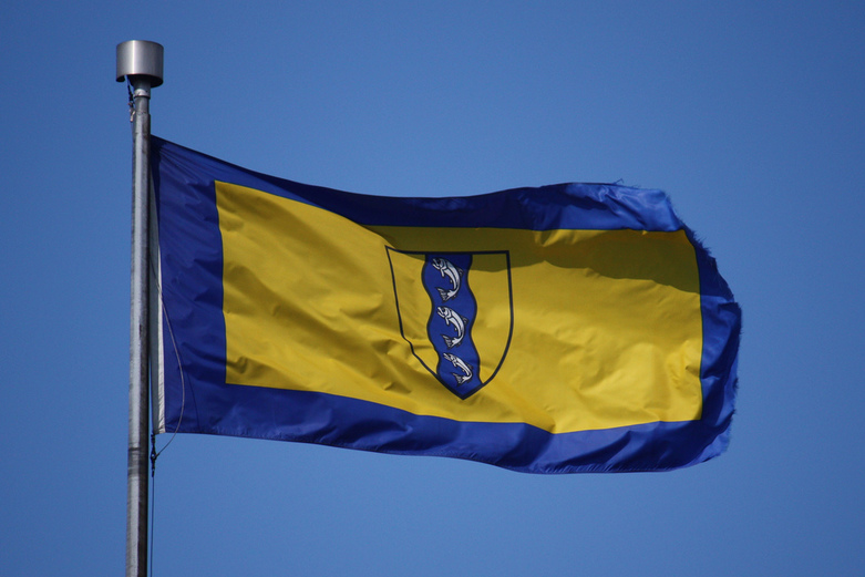 Flag of Richmond B C  by scazon