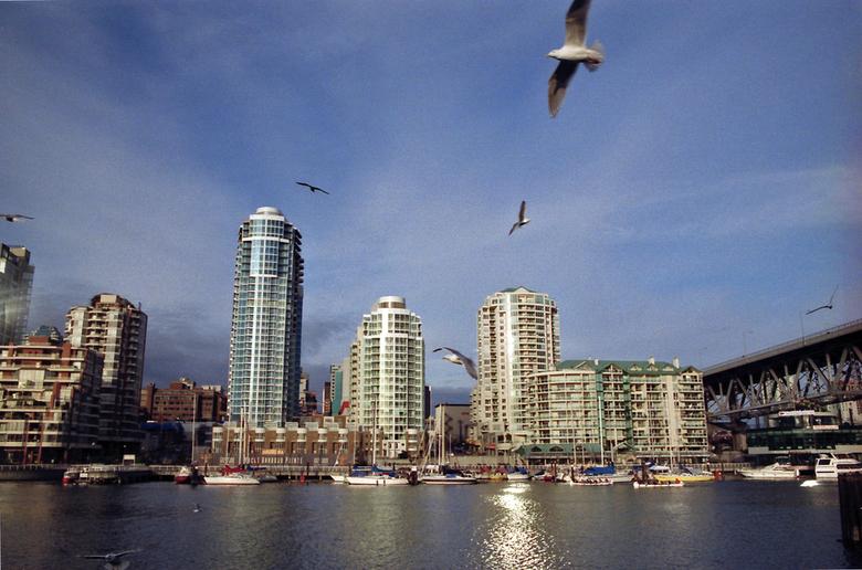Vancouver Skyline By I am I A M